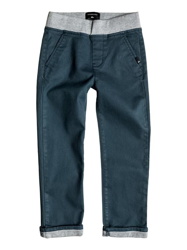 0 Krandy Contrast - Pantalon chino Bleu EQKNP03031 Quiksilver