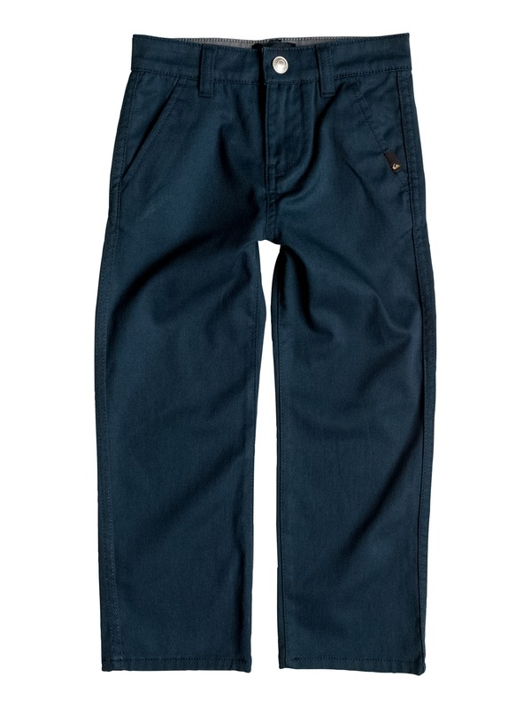 0 Boy's 2-7 Everyday Union Chinos Blue EQKNP03033 Quiksilver