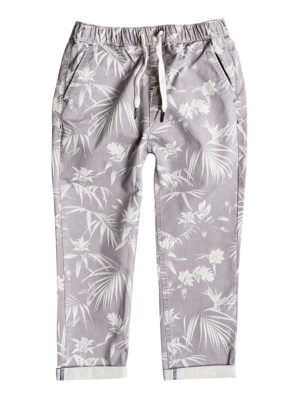 0 Last Jungle - Pantalon chino Gris EQKNP03038 Quiksilver