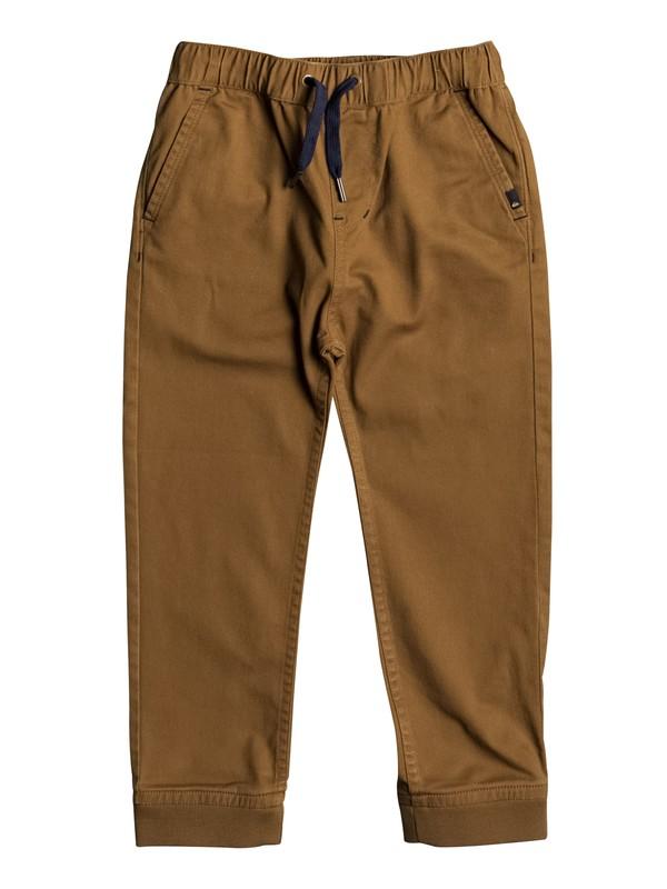 0 Tapo - Pantalon de jogging en sergé  EQKNP03042 Quiksilver