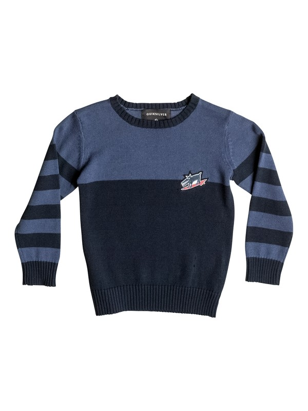 0 Wounded Pride - Sweat Bleu EQKSW03016 Quiksilver