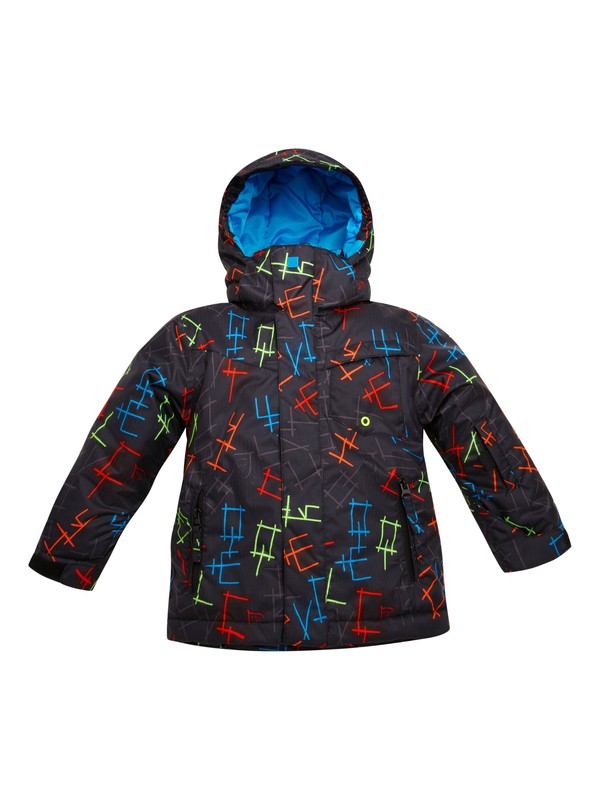 0 Boys 2-4 Little Mission Jacket  EQKTJ00012 Quiksilver