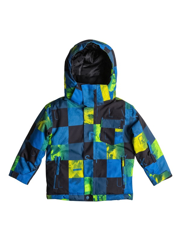 0 Boys 2-7 Little Mission Snow Jacket  EQKTJ03002 Quiksilver
