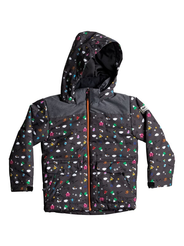0 Mr Men Edgy - Veste de snow Noir EQKTJ03005 Quiksilver