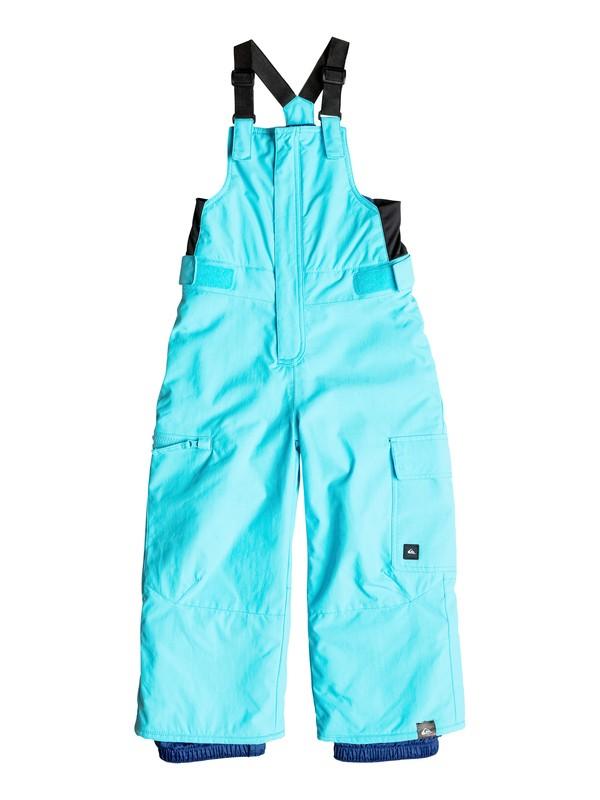 0 Boys 2-7 Boogie Bib Snow Pants  EQKTP03001 Quiksilver