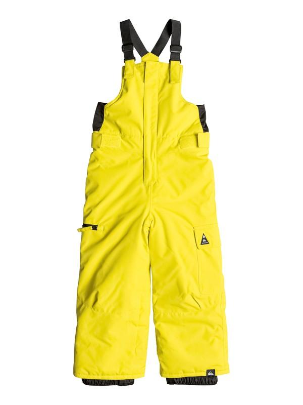 0 Boogie - Pantalon de snow Vert EQKTP03002 Quiksilver