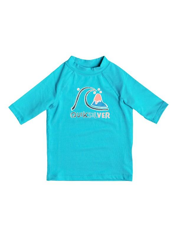 0 Bubble - Surf tee manches courtes Bleu EQKWR03000 Quiksilver