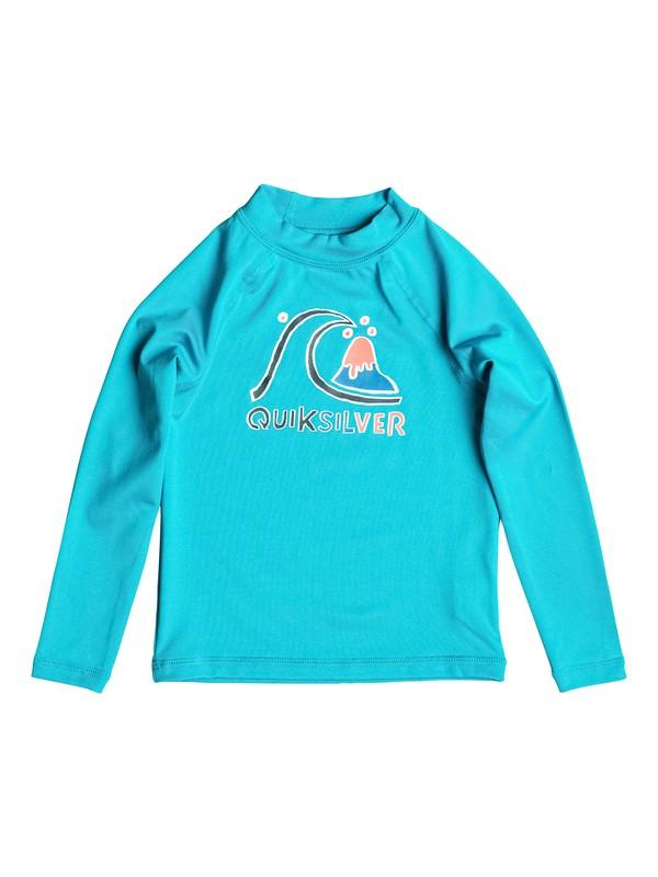 0 Bubble - Surf tee manches longues Bleu EQKWR03001 Quiksilver