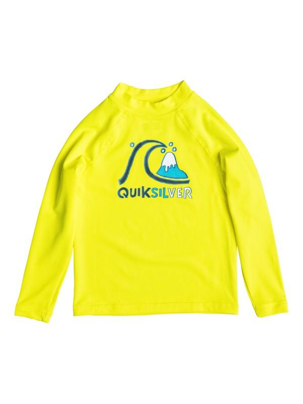 0 Bubble - Surf tee manches longues Jaune EQKWR03001 Quiksilver
