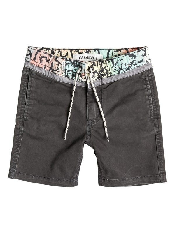 0 Street Trunk Yoke Cracked - Short  EQKWS03035 Quiksilver