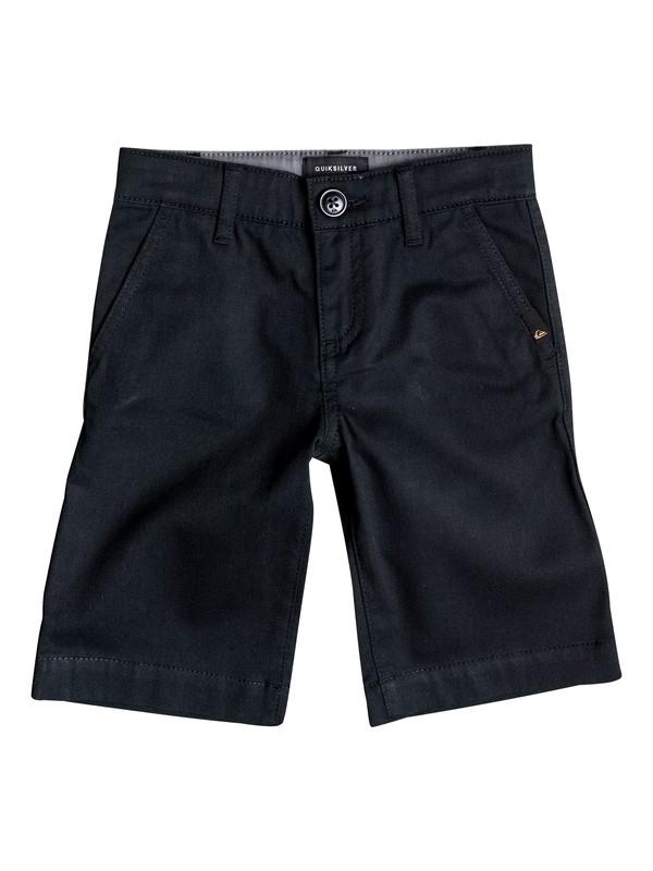 0 Boy's 2-7 Everyday Union Stretch Chino Shorts Black EQKWS03061 Quiksilver