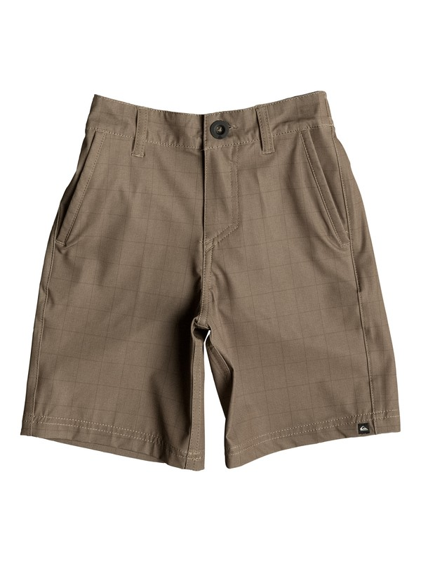 "0 Boy's 2-7 Neolithic 14"" Amphibian Shorts  EQKWS03070 Quiksilver"