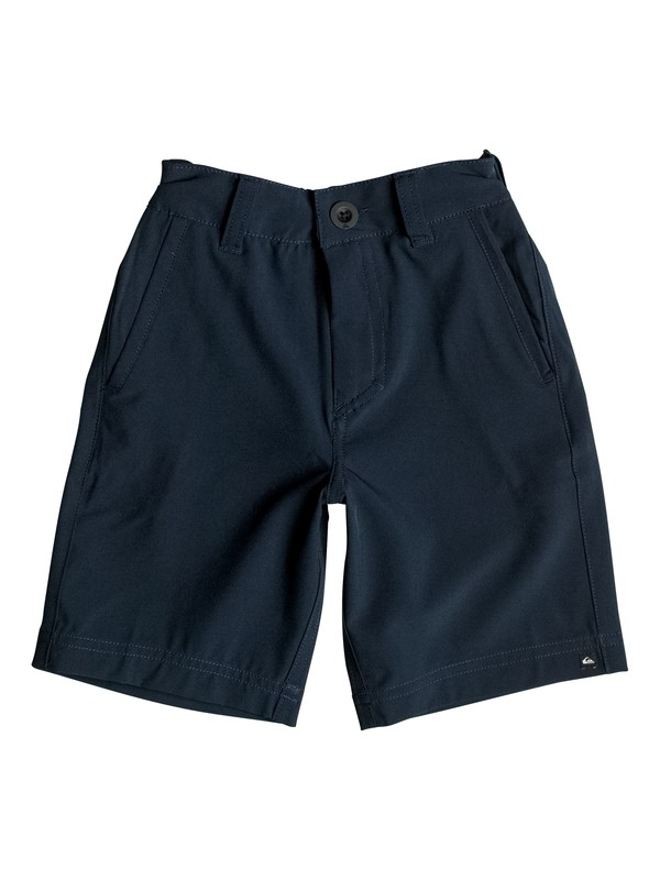 "0 Boy's 2-7 Solid 21"" Amphibian Shorts  EQKWS03071 Quiksilver"