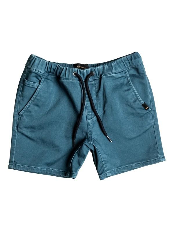 0 Fonic - Short en sergé Bleu EQKWS03084 Quiksilver
