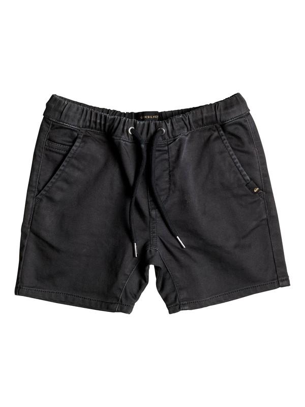 0 Fonic - Short en sergé Noir EQKWS03084 Quiksilver