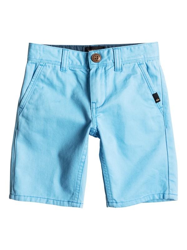 0 Everyday - Short en sergé Bleu EQKWS03088 Quiksilver