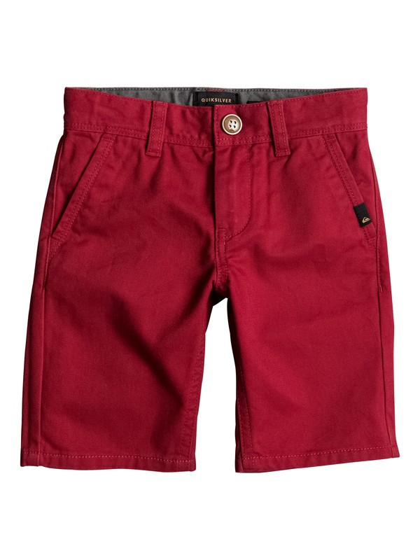0 Everyday - Chino Shorts Rot EQKWS03088 Quiksilver