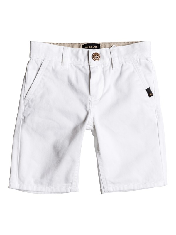 0 Everyday - Short en sergé Blanc EQKWS03088 Quiksilver