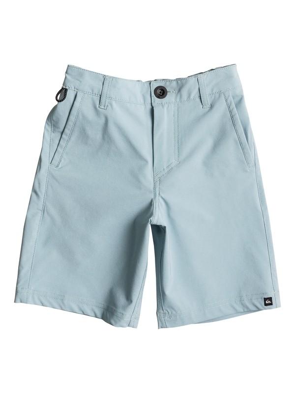"0 Boy's 2-7 Solid Amphibian 14"" Shorts  EQKWS03096 Quiksilver"