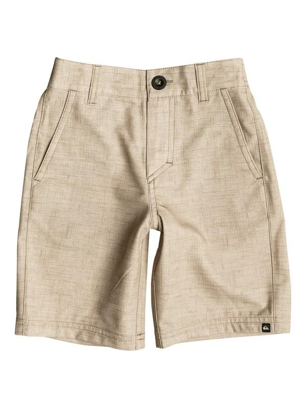 "0 Boy's 2-7 Platypus Amphibian 14"" Amphibian Shorts  EQKWS03097 Quiksilver"
