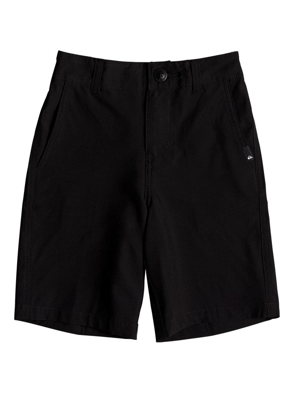 "0 Boys 2 - 7 Union 14"" Amphibian Shorts Black EQKWS03141 Quiksilver"