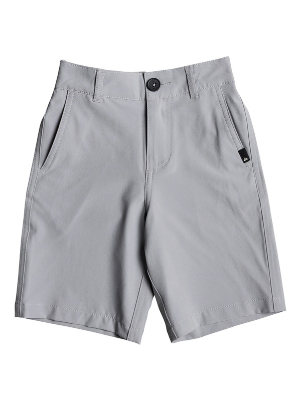 "0 Boys 2 - 7 Union 14"" Amphibian Shorts Grey EQKWS03141 Quiksilver"