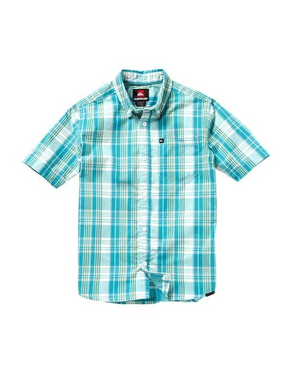 0 Boys 2-7 Tidal Short Sleeve Shirt  EQKWT00001 Quiksilver