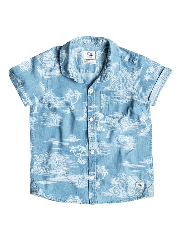 0 Pyramid Point - Chemise manches courtes  EQKWT03047 Quiksilver