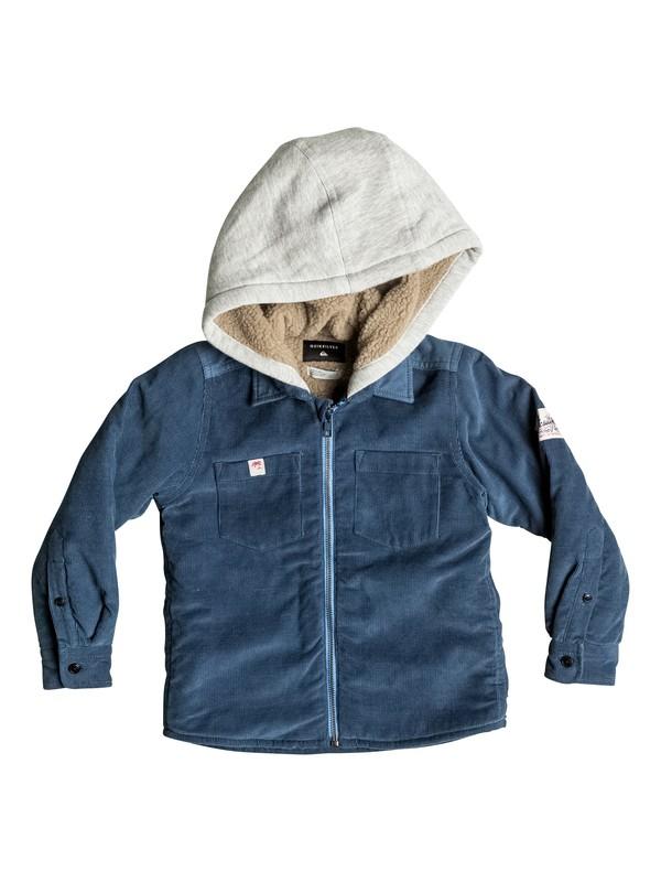 0 Fake Ethics - Veste chemise zippée  EQKWT03066 Quiksilver