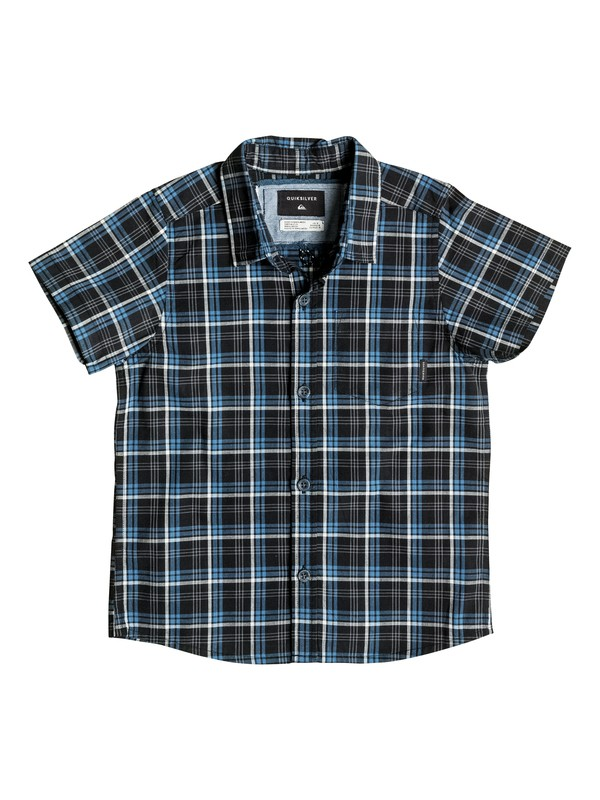 0 EVERYDAY CHECK SS BOY  EQKWT03076 Quiksilver