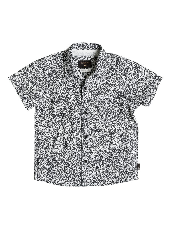 0 Boy's 2-7 Bad Channel Short Sleeve Shirt  EQKWT03079 Quiksilver