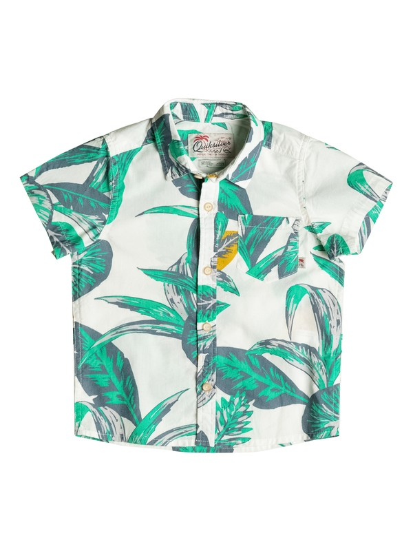 0 Boy's 2-7 Aloe Short Sleeve Shirt  EQKWT03096 Quiksilver