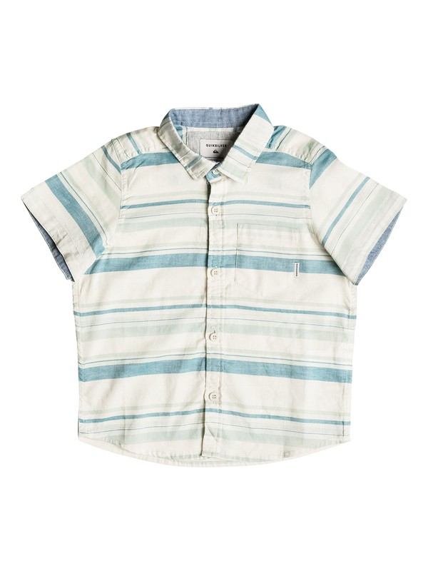 0 Boy's 2-7 Aventail Short Sleeve Shirt  EQKWT03103 Quiksilver