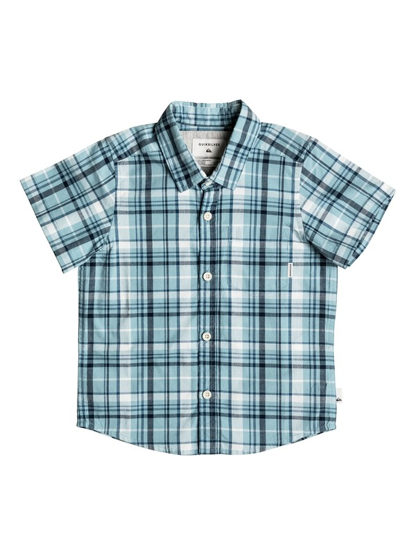 0 Boy's 2-7 Everyday Check Short Sleeve Shirt  EQKWT03116 Quiksilver