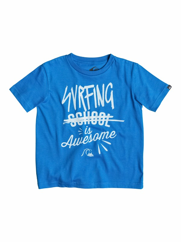 0 Classic Surfing Is Awesome - T-shirt  EQKZT03027 Quiksilver