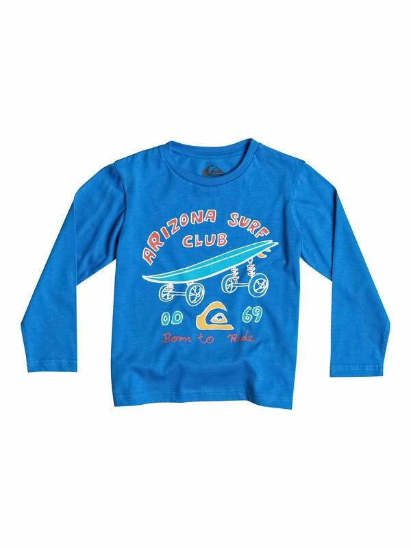 0 Classic Arizona Surf Club - T-shirt manches longues  EQKZT03030 Quiksilver