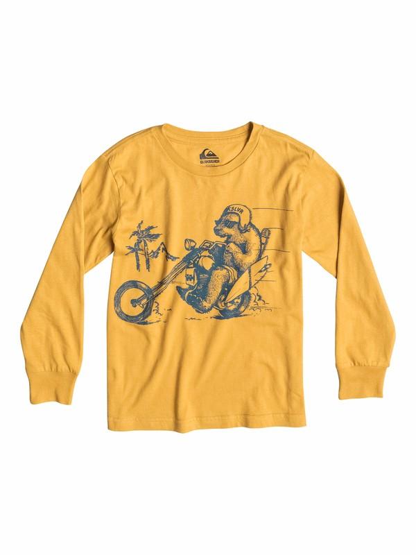 0 Organic Bear Chopper - T-shirt manches longues  EQKZT03035 Quiksilver