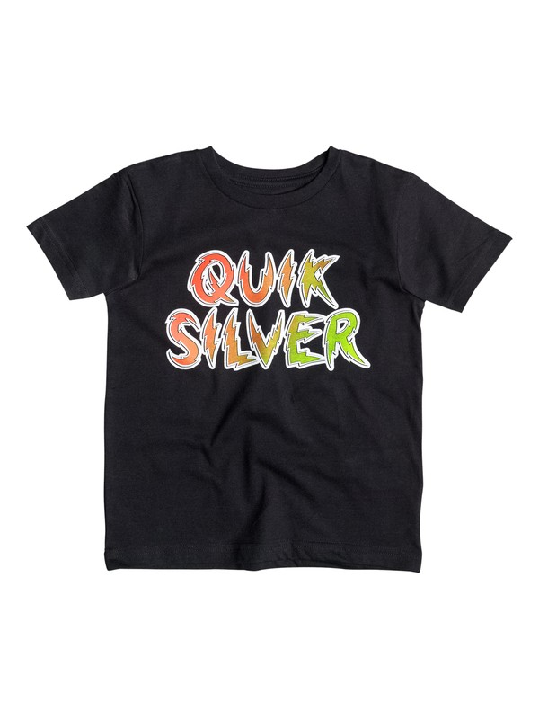 0 Classic High Voltage - T-shirt Noir EQKZT03048 Quiksilver