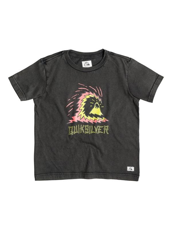 0 Storm - T-shirt Noir EQKZT03054 Quiksilver