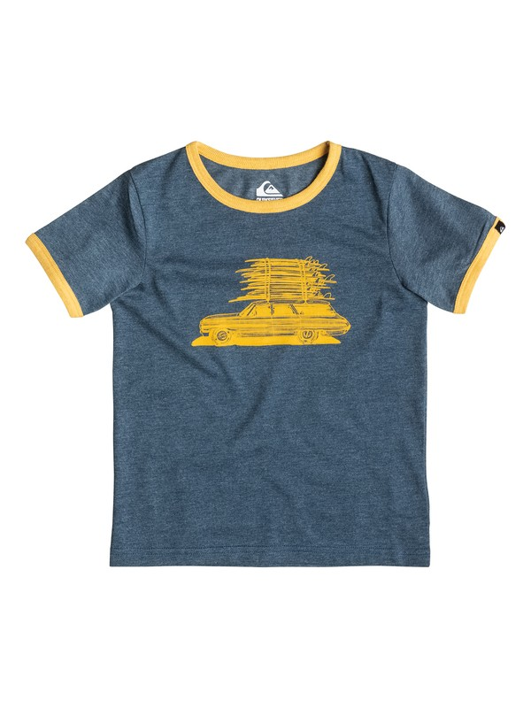 0 Heather Board Wagon - T-shirt  EQKZT03057 Quiksilver