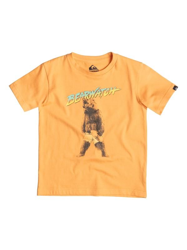 0 Classic Bearwatch - T-shirt Orange EQKZT03059 Quiksilver