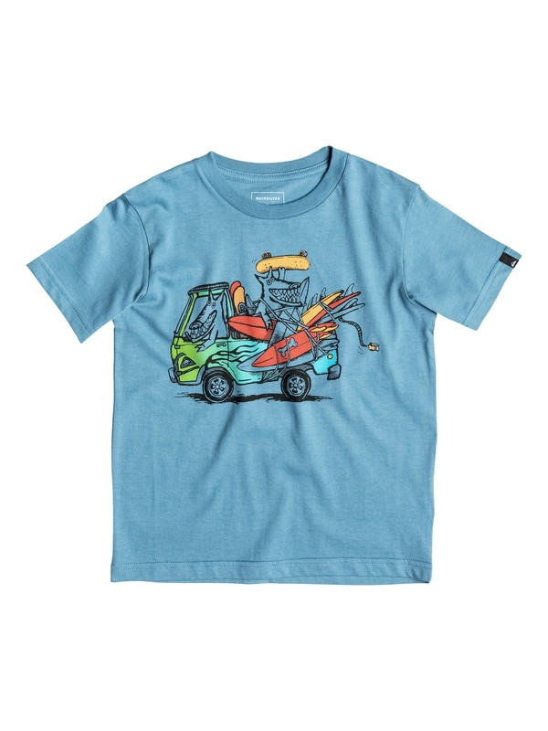 0 Classic Happy Days - Tee-Shirt  EQKZT03064 Quiksilver