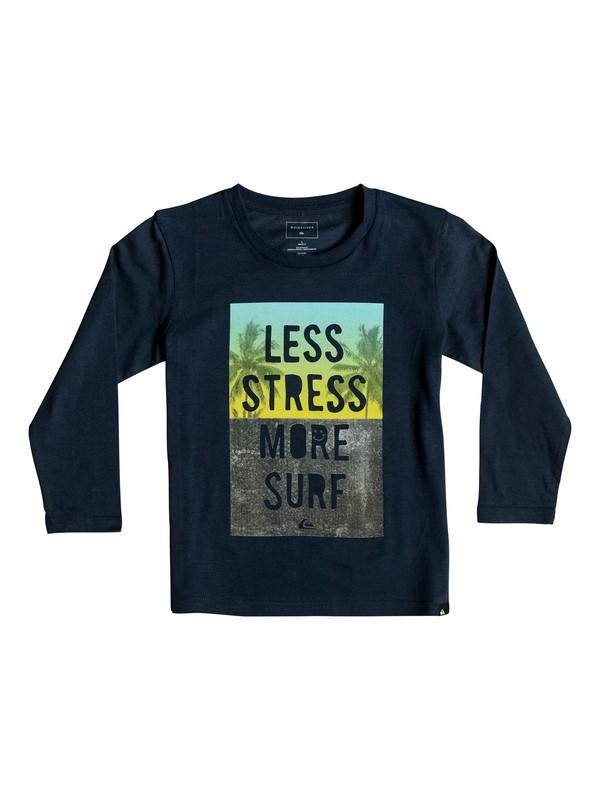 0 Classic Less Stress - Tee-Shirt à manches longues  EQKZT03068 Quiksilver