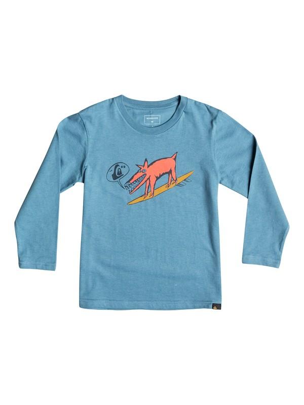 0 Classic Dogi Surf - Tee-Shirt à manches longues Bleu EQKZT03069 Quiksilver