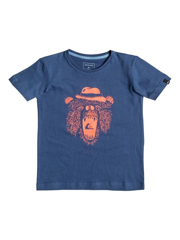 0 Carbon Miammiam - Tee-Shirt Bleu EQKZT03071 Quiksilver