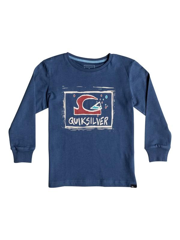0 Carbon Finish Bubble D - Tee-Shirt à manches longues  EQKZT03073 Quiksilver