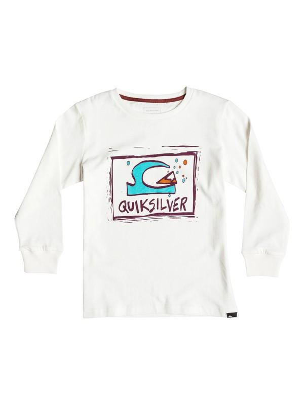 0 Carbon Finish Bubble D - Tee-Shirt à manches longues Blanc EQKZT03073 Quiksilver