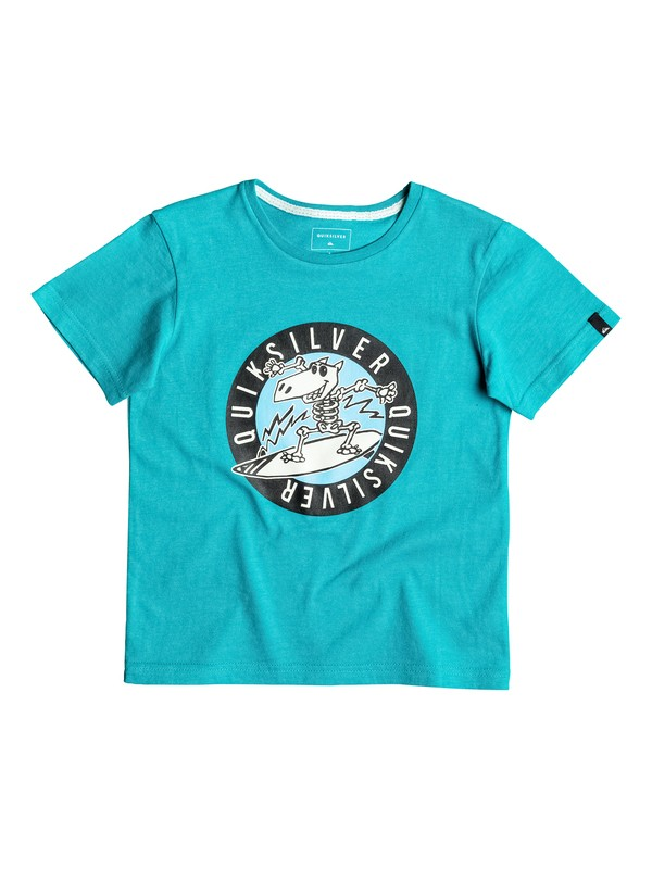 0 Classic Balou - Tee-Shirt Bleu EQKZT03081 Quiksilver