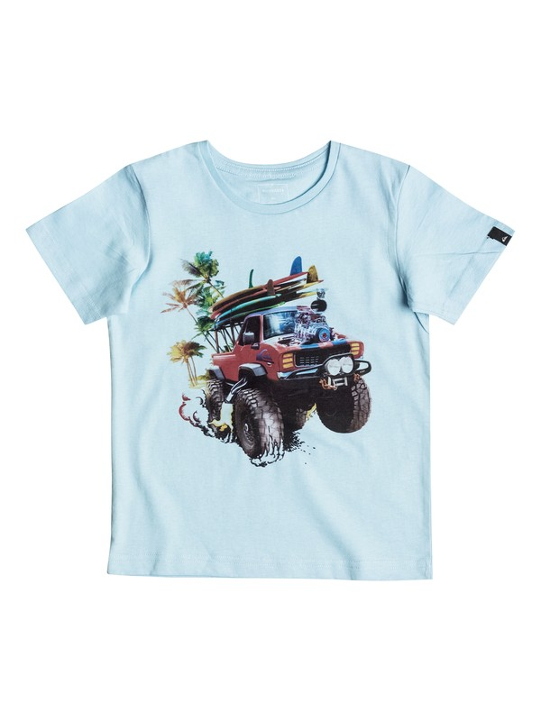 0 Classic Monster Garde - Tee-Shirt  EQKZT03082 Quiksilver