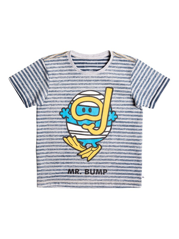 0 Boy's 2-7 Mr Bump Classic Tee Grey EQKZT03118 Quiksilver